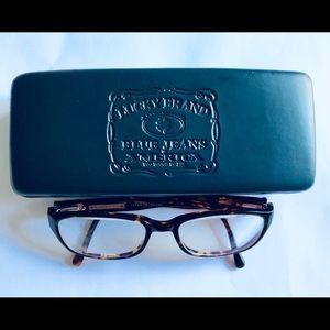Lucky Brand Lucky Me Zak Tortoise Eyeglass Frames